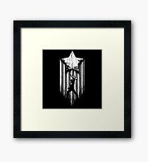 Captain Hero Framed Print