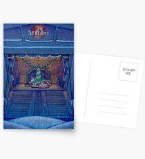 Firefly Christmas on Serenity Postcards