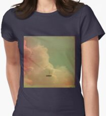 Once Upon a Time a Little Boat Womens Fitted T-Shirt