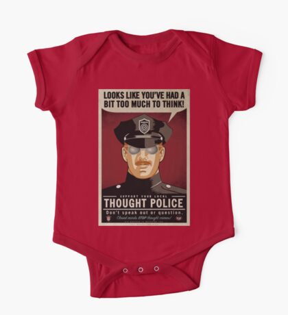 Thought Police Kids Clothes