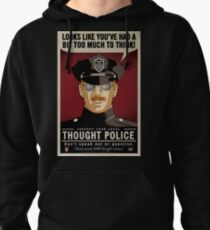 Thought Police Pullover Hoodie