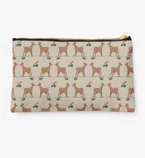 Deer in pairs Studio Pouch