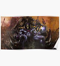 Skeletor Throne Poster