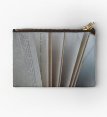 Pages of a Book Studio Pouch