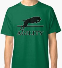 agility chien dog Classic T-Shirt