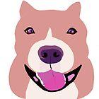 Happy Bulldog  by Karen Harding