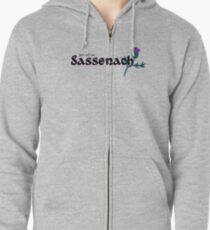 Sassenach Sudadera con capucha y cremallera