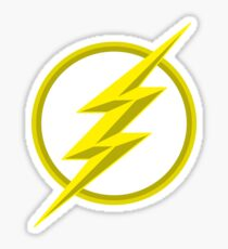 The Lighning Flash Speedster Sign Sticker