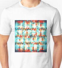 Brush Stroke Rainbow Hatch Unisex T-Shirt