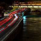 Light Flow To Pont Notre-Dame ©  by © Hany G. Jadaa © Prince John Photography