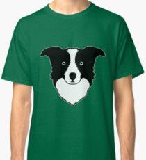 border collie chien berger Classic T-Shirt