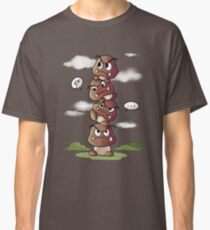 Goomba tower Classic T-Shirt