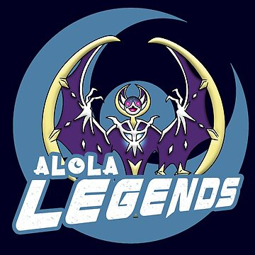 Alola Legends Pokémon Moon by FraStiller