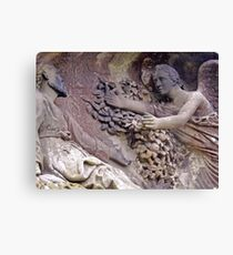 Angel Collects Canvas Print