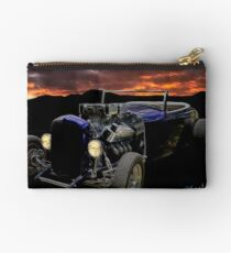 Low Boy Roadster Meets Morning's Rosy Glow Studio Pouch