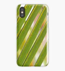 COCONUT LEAF IN PATTERN iPhone Case/Skin