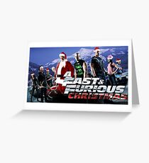 Fast Furious Greeting Cards Redbubble