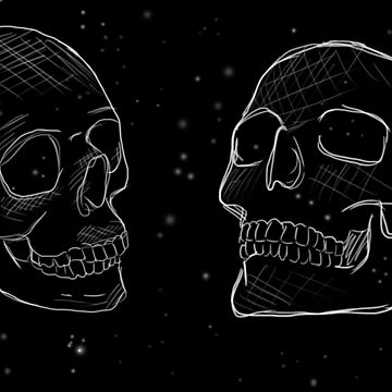 Space Skulls by LifeHasStarted