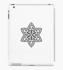 Mandala hand-drawn art : Luxury black white Design edition iPad Case/Skin