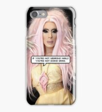 If you're not wearing nails, you're not doing drag. Alaska Thunderfuck / RPDR iPhone Case/Skin