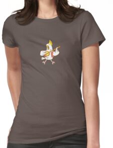 Aussie Cockatoo Womens Fitted T-Shirt