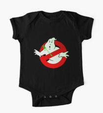 Who Busts The Ghost Busters? (logo) v3 One Piece - Short Sleeve