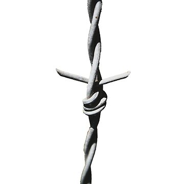 Barbed Wire Cross by connorgrady
