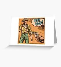 western Greeting Card