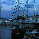 .. an evening view on the magic and beautiful little harbour at Borgo Marinara (Naples, Italy) ~ 5 by Rachel Veser