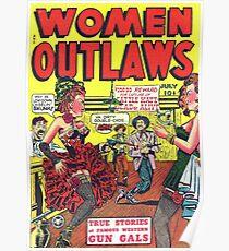 woman outlaws Poster