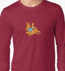 Aussie Kangaroos Long Sleeve T-Shirt