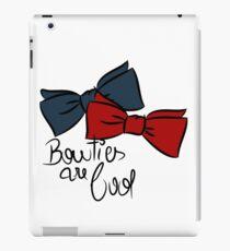 Bowties are cool! iPad Case/Skin