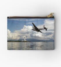 Shackleton over Lismore lighthouse Studio Pouch