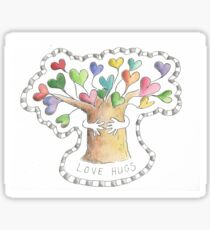Love Hugs  Sticker