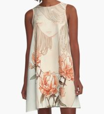 stem. A-Line Dress