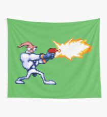 Earthworm Jim Wall Tapestry