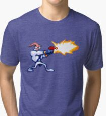Earthworm Jim Tri-blend T-Shirt