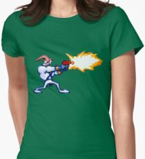 Earthworm Jim Womens Fitted T-Shirt