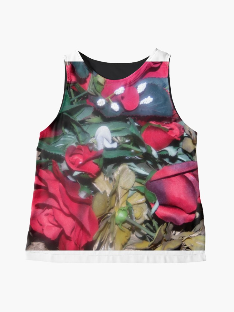Alternate view of Petals Collection  Contrast Tank