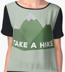 Take a hike! Chiffon Top