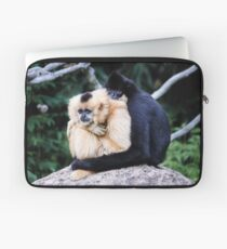 two monkeys Laptop Sleeve