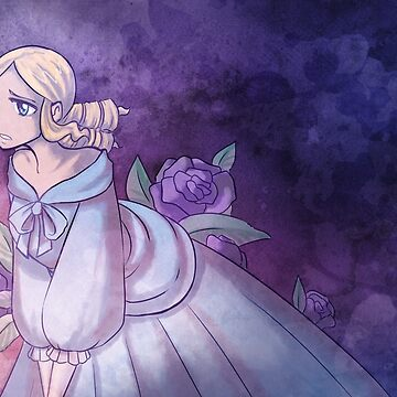 Watercolour Rose Clara by SweetIngenuity