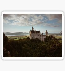 Neuschwanstein Castle in Germany  Sticker