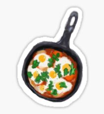Shakshuka Digital Illustration Sticker