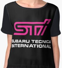 STI Subaru Tecnica International Chiffon Top