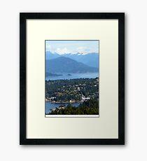Landing View Framed Print