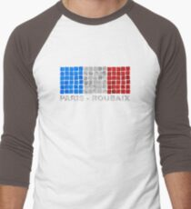 Paris - Roubaix. The Hell of the North Men's Baseball ¾ T-Shirt