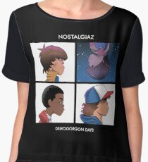 Stranger Things Nostalgiaz Women's Chiffon Top