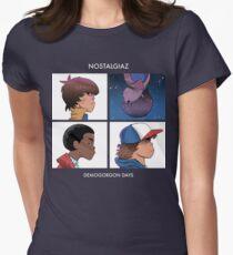 Stranger Things Nostalgiaz Womens Fitted T-Shirt