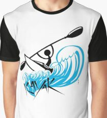 Camiseta gráfica kayac